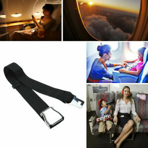 Adjustable Airplane Seat Belt Extender Extension Airline Buckle Aircraft Ship