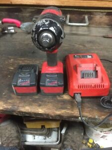 Snap On Ct8850 1 2 Inch Drive Cordless Impact