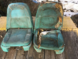 Driver Passenger Electric Seat Bucket Ford Thunderbird Galaxie 1958 59 1960