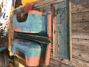 Chevrolet Pickup Truck Bed Box Shortbed 1955 56 57 58 59 Chevy Pickup Fenders