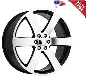 4ea 24 Chevy Trailblazer Ss Wheels Fr 32 Black Machined Oem Replica Rims s1