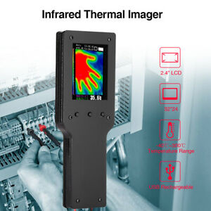 Hy01 Thermal Imaging Camera Infrared Thermometer 40 300 Lcd Battery Included