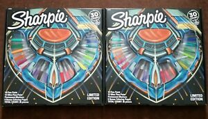 2 Packs Limited Edition 30ct Sharpie Permanent Fine ultra Fine Marker Set