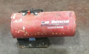 Nr Universal 350 000 Btu Forced Air Construction Propane Heater 115v 60 Hz