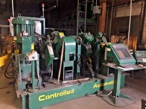 Controlled Automation Abl 86t Angle Punching And Shearing Machine