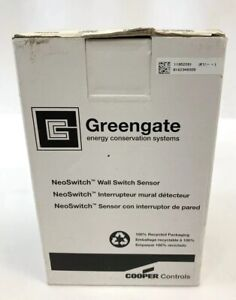 Greengate cooper Controls Onw d 1001 mv n w Wall Switch Sensor Neoswitch