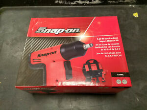 Snap On 9 6v 3 8 Drive Cordless Impact Wrench Ct596g New Free Shipping