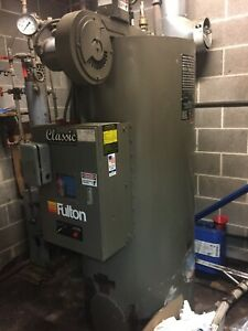 2016 Fulton 15hp Classic Boiler With Night Heat