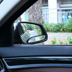2 Car 360 Wide Angle Convex Blind Spot Mirror Stick On Rear View Accessories