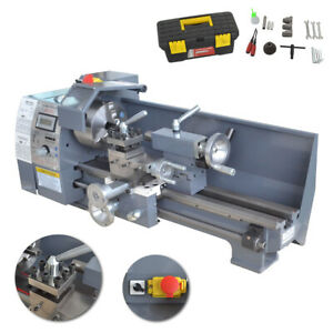 750w 8 x16 110v Variable speed Mini Metal Lathe Bench Top Digital