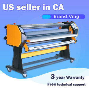 Refurbished 67 Stand Frame Full auto Single Side Wide Format Hot cold Laminator