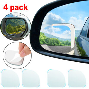 4pcs Blind Spot Mirror Universal Auto 360 Wide Angle Rearview Car Truck Side Us