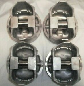 Trw Forged Pistons Mercury Marine Ford 460 Part 759 8312 10 Set Of 4