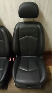 2003 09 Mercedes E350 E500 W211 Leather Seats Black Oem