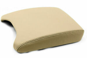 Fits 00 06 Bmw X5 E53 Synthetic Leather Center Console Armrest Cover Beige