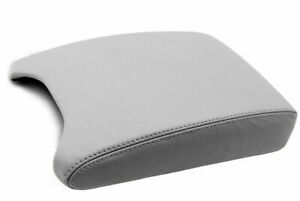 Fits 00 06 Bmw X5 E53 Synthetic Leather Center Console Armrest Cover Gray