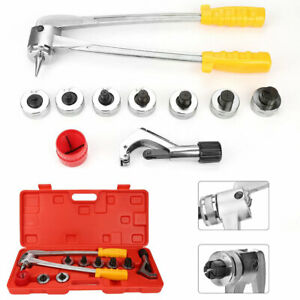 Hydraulic Tube Expander 7 Lever Tubing Expanding Tool Swaging Kit Tools Hvac New