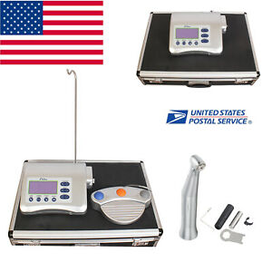 Dental Implant Machine Surgical Brushless Motor 20 1reduction Handpiece Gift