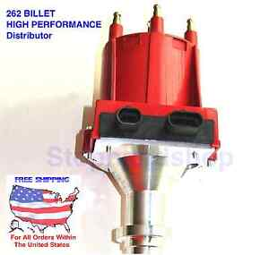 New Pro Billet High Performance Ignition Distributor For Gmc Chevy V6 4 3l 262