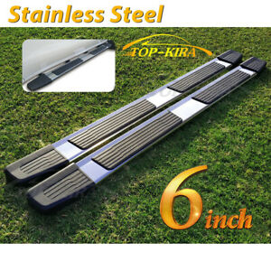For 2007 2020 Toyota Tundra Double Cab 6 Running Board Nerf Bar Side Step S S S