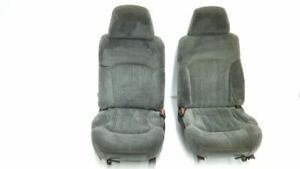 Pair Of Front Seats 2001 S10 Pickup Extreme Oem Gmc Chevy Buckets