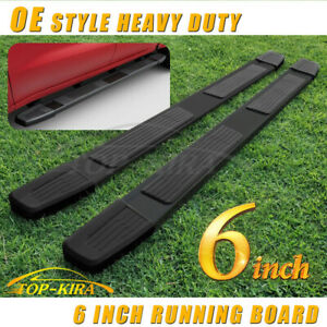 For 2019 2020 Dodge Ram 1500 Crew Cab 6 Running Board Side Step Nerf Bar Blk S