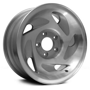 For Ford F 150 93 96 17x8 5 Slot Silver Alloy Factory Wheel Remanufactured