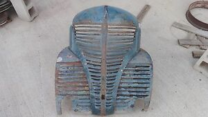 1939 1940 Plymouth Pickup Grille Original Free Delivery To Turlock Ca Swap Meet