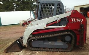 Strong Running 2007 Takeuchi Tl140 81hp Skid Steer Track Loader With Low Hours