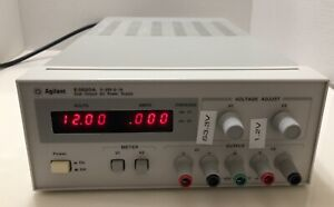 Hp Agilent E3620a Dual Ch Dc Power Supply 0 25a 0 1a Tested New Cosmetic Deal