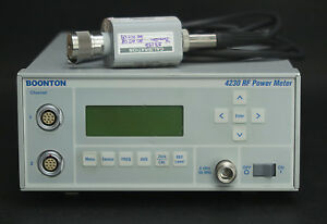 Boonton 4230 Dual Channel Power Meter With 51071 Sensor 01 26 5 Ghz 70 20dbm