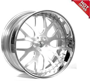 4ea 22 Staggered Ac Forged Wheels Rims 818 St 3 Pcs S2