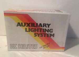 Vintage 1985 Nos Kc Hilites Fog Lights Auxiliary Lighting System New In Box