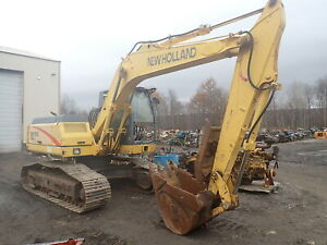 2001 New Holland Ec130 Lc Hydraulic Excavator Runs Mint Thumb Erops