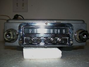 54 1954 Ford Stock Factory Original Radio Good Working Condition