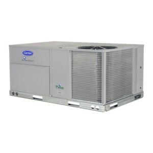 new Carrier Weathermaker Standard efficiency Single packaged Rooftop Unit 50tc
