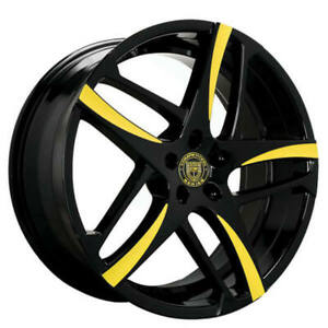 4ea 24 Lexani Wheels Bavaria Custom Color Rims s8