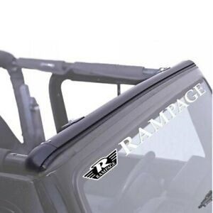 For Jeep Wrangler 1997 2006 Rampage Windshield Channel
