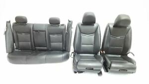 Full Set Of Leather Seats Opt Uqa Ku1 Oem 13 14 Cadillac Xts R331912