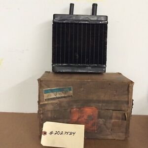 60 S 70 S Nos Gm Chevy Buick Olds Harrison Heater Core 2027584 Oem