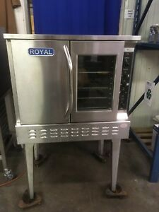 Royal Range Rcos 1 Gas Convection Oven Standard Depth