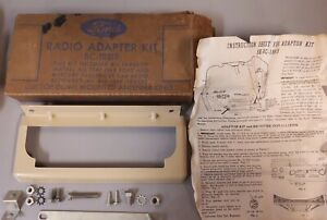 Nos Oem Ford Merc 1947 1948 Car 1948 Truck Radio Adapter Kit Face Plate Mercury