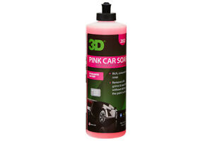 3d Pink Car Soap Ph Balance Gentle And Effective Shampoo 16oz
