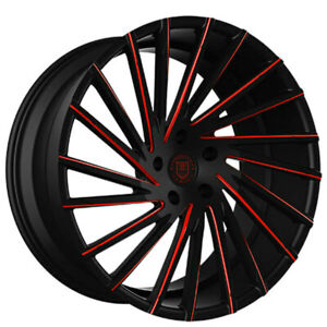4ea 24 Lexani Wheels Wraith Custom Color Rims s9