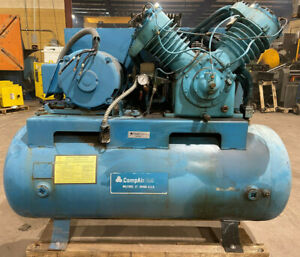 Compair Kellogg Air Compressor With 25 Hp Marathon Electric Motor