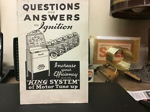 1930s King Motor And Ignition Tester Sales Brochure