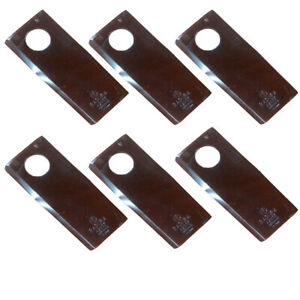 527746bh Pack Of 6 Right Handed Disc Mower Blades For New Idea 5209 5212 5312