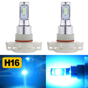 2x 8000k 5202 H16 Led Fog Light Bulbs For Chevy Silverado 1500 2500 2007 2015 Us