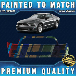 New Painted To Match Front Bumper Cover Fascia For 2013 2014 Ford Mustang 13 14