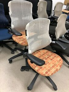 Knoll Generation Office Chairs Fully Loaded Adjustable Arms
